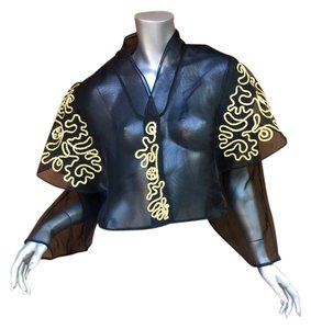 Other Vintage Designer Cocktail Formal black and gold Jacket