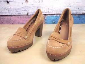 Sperry Top Sider Darlington Brown Platforms