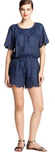 French Connection short dress blue Romper Jumpsuits Chambray on Tradesy