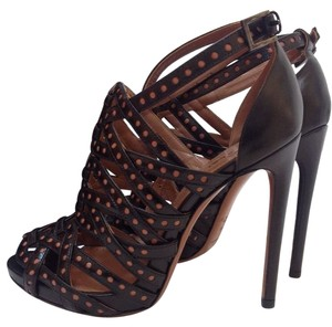 ALAÏA BLACK/BROWN Pumps