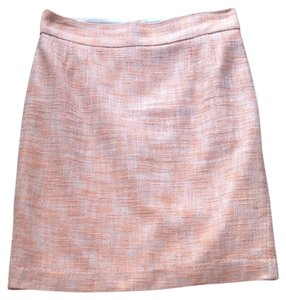 Banana Republic Office Professional Business Knee Length Skirt Light Orange