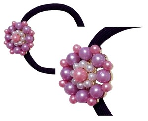 Other BRAND NEW! Beautiful Pearlescent Hair Jewel Ponytail Holder