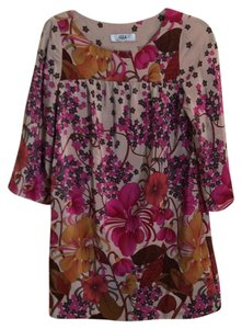 Tibi short dress Multicolor, pink, fushia, mustard, beige on Tradesy