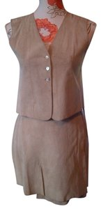 Gap Seude wrap skirt and vest