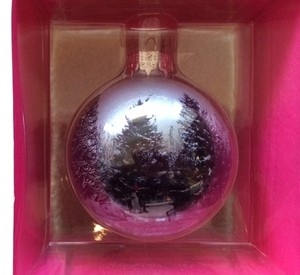 Ted Baker NWT-FAST SHIPPING- Ornament Christmas scene 2013