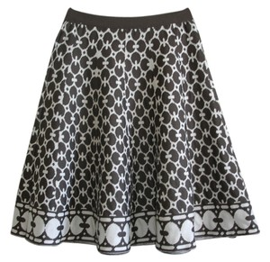 Knit Pull-on Skirt brown
