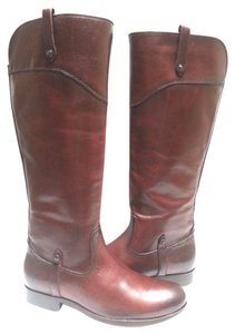 Frye Riding Leather RedWood Boots
