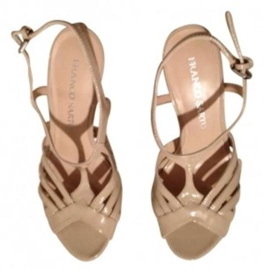 Franco Sarto Wedding Season Bridesmaid Summer Sandals Nude/Cream Wedges