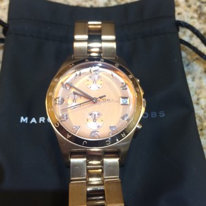 Marc by Marc Jacobs Marc by Marc Jacobs Rose Gold MBM3074 Watch EUC