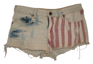 Mini Made In La Mini/Short Shorts red white and blue