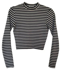 T by Alexander Wang Mock Neck Sweater