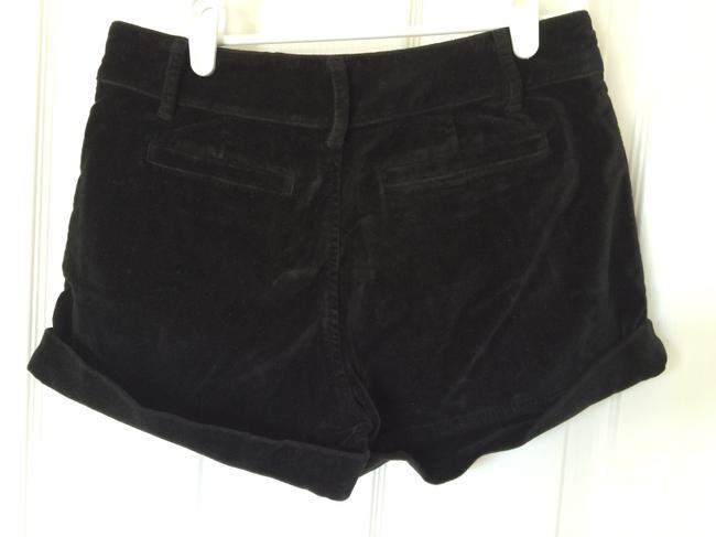 Juicy Couture Dress Shorts Dark Army Green Velvet
