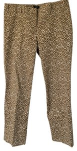 J.Crew Capris Brown Ikat