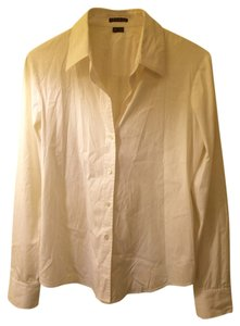 Theory Work Essential Blouse Button Down Shirt White
