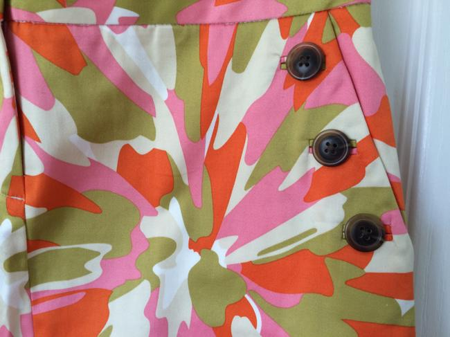 J.Crew Mini Skirt Pink Multi