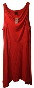 Ann Taylor short dress Red Date Night on Tradesy
