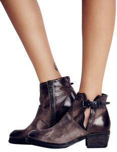 A.S. 98 Catina Ankle Size Eu 37 / Us 7 Leather Sale Chocolate Boots