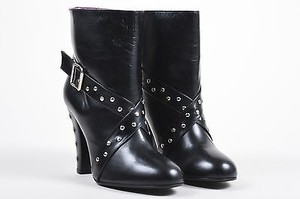 Marc Jacobs Studded Heeled Black Boots