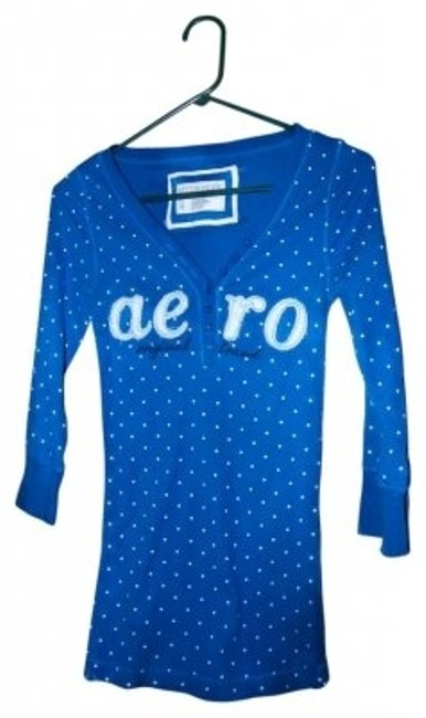 Preload https://item3.tradesy.com/images/aeropostale-blue-tee-shirt-size-10-m-14807-0-0.jpg?width=400&height=650