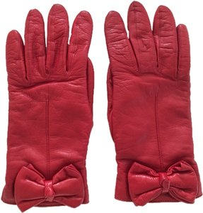 Kate Spade Kate Spade Leather Bow-Tie Driving Gloves