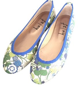 French Sole Verde boxford Flats