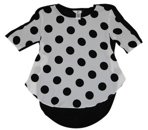 Dolce Vita Top Black/White
