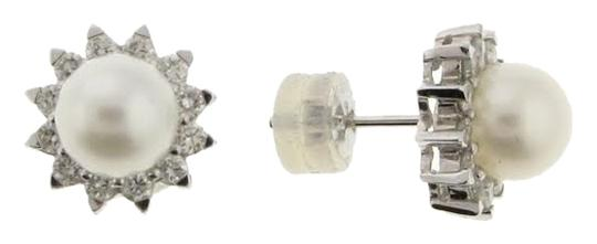 Other 18k White gold Diamond and Pearl Earrings - MUST HAVE - WHOLESALE