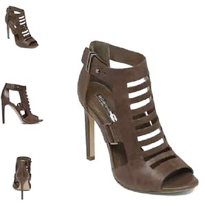BCBG Bcbgeneration Gladiator Stiletto Brown Sandals