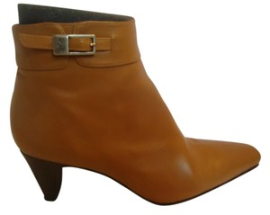 Donald J. Pliner Leather Buckle Ankle Bootie Boots