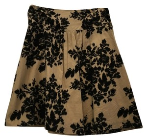 The Limited Skirt Cream and black