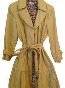 Maggy London Gold Trench Coat