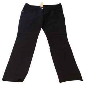 Color Swatch Skinny Pants Black