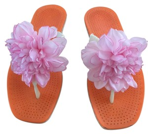 Kate Spade Pink/Orange Sandals