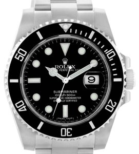 Rolex Rolex Submariner Mens Steel Ceramic Bezel Watch 116610 Unworn