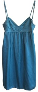 Jill Stuart short dress Turquoise on Tradesy