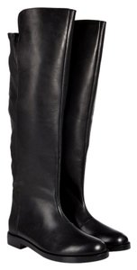 Maison Margiela Riding Boot Over Knee Black Boots