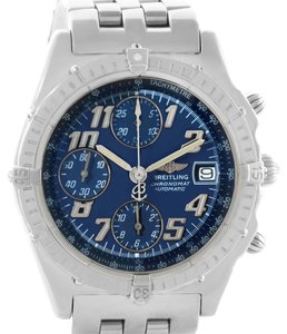 Breitling Breitling Chronomat Blackbird Blue Dial Mens Watch A13350