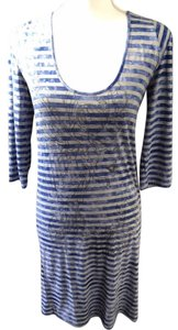 Diesel short dress Blue/grey on Tradesy