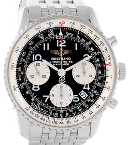 Breitling Breitling Navitimer Chronograph Black Dial Steel Watch A23322