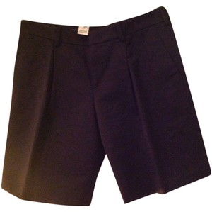 Gucci Pleated Mid-rise Made In Italy Shorts Black