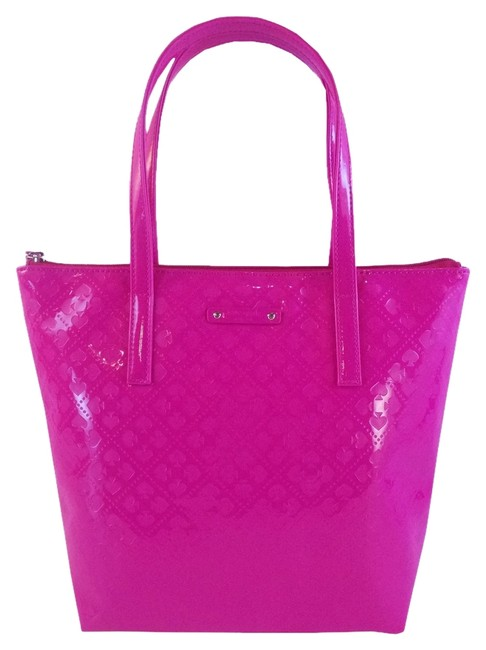 Item - Emerald Avenue Jeralyn In / Snapdragon Pink Faux Leather Tote