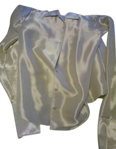 Ralph Lauren Collection Top silvery