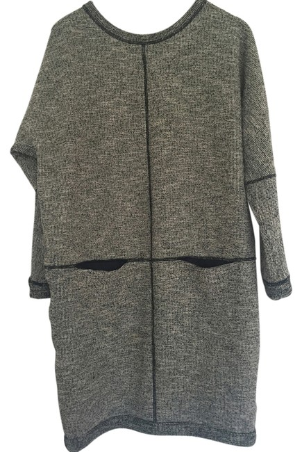 Item - Grey Above Knee Short Casual Dress Size 0 (XS)