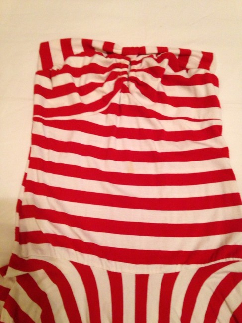 Corey Lynn Calter short dress Red & White Striped on Tradesy
