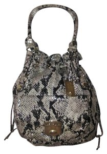 Marc Fisher Drawstring Gold Hardware Hobo Bag