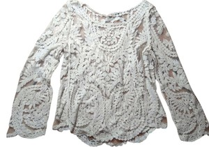 Lace Size Small Top beige
