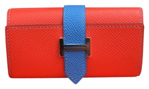 Hermès Bearn 4-Ring Key Case Epsom Leather