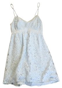 Abercrombie & Fitch short dress Light blue on Tradesy