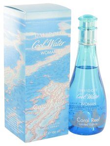 davidoff COOL WATER CORAL REEF by DAVIDOFF ~ EDT Spray (Limited Edition) 3.4 oz