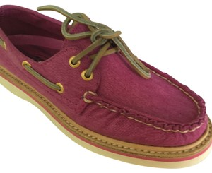 Sperry rose violet Flats